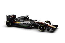 The Force India VJM08
