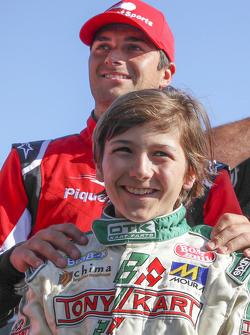 Nelson Piquet jr. und Enzo Fittipaldi