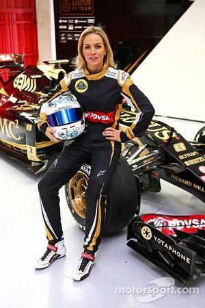 Carmen Jorda del Equipo Lotus F1