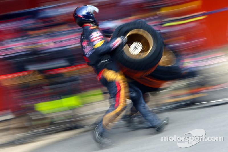 Scuderia Toro Rosso mecânicos