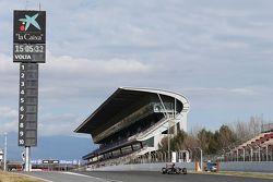 Макс Ферстаппен. Тесты Ф1 в Барселоне II, День 2.