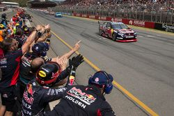 Jamie Whincup, Red Bull Holden takes the win