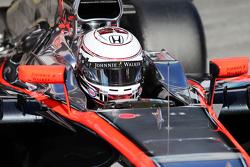 Kevin Magnussen, McLaren MP4-30 piloto de prueba y reserva