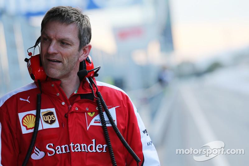 James Allison, Ferrari Chassis Technical Director