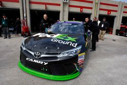 Car of Denny Hamlin, Joe Gibbs Racing Toyota