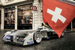 Coche de Fórmula E en Ginebra