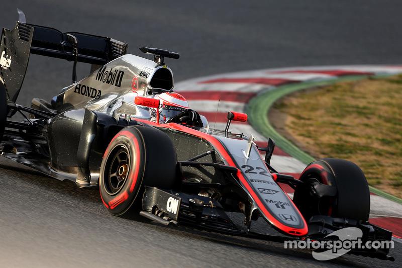 Jenson Button (ING), McLaren Honda