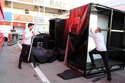 McLaren empaca al final del día