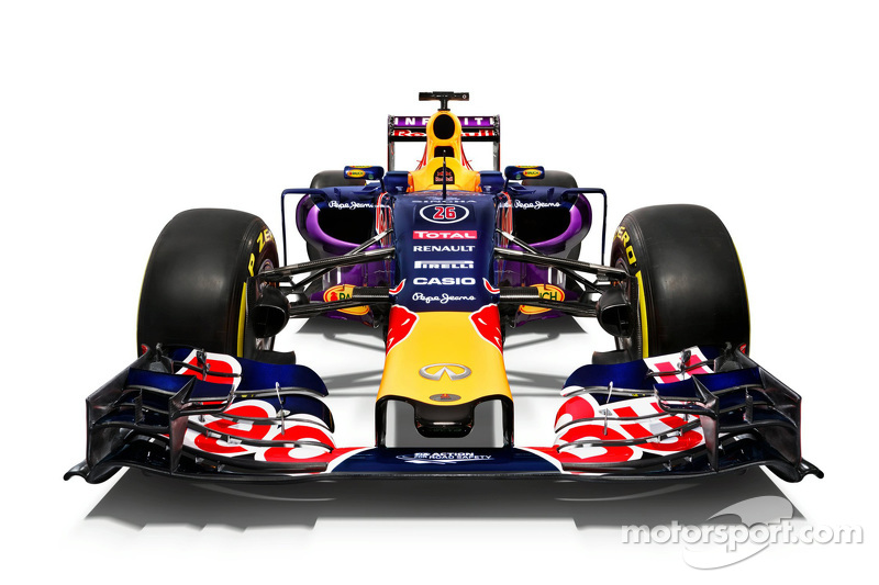 Red Bull onthult 2015-livery