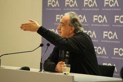 Sergio Marchionne, Presidente Ferrari e CEO di Fiat Chrysler Automobili