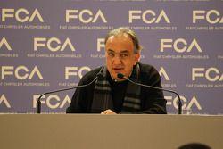 Sergio Marchionne, CEO FIAT Chrysler Automobiles