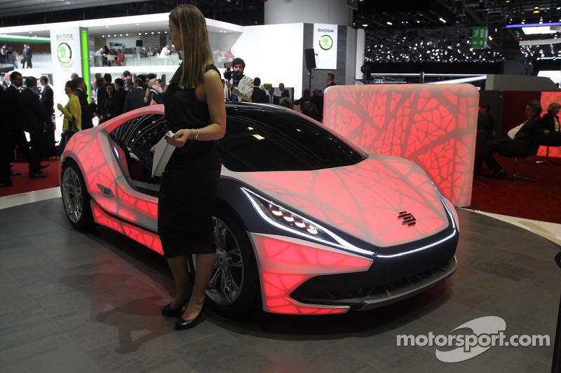 Edag Light Concept At Geneva International Auto Show - Car light show