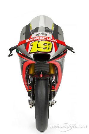 Motorrad von Alvaro Bautista, Aprilia Racing Team Gresini