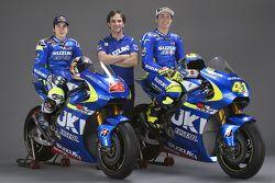 Maverick Viñales, Team Suzuki MotoGP, Aleix Espargaro, Team Suzuki MotoGP