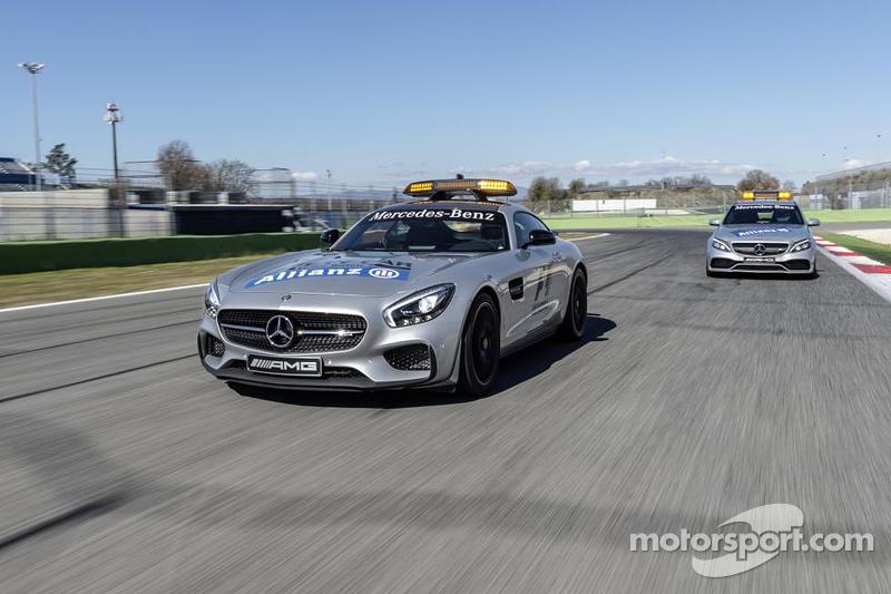 Презентация машин безопасности Mercedes AMG, Презентация.