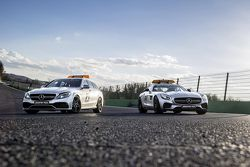 Mercedes-AMG GT S safety car, dan C 63 S medical car
