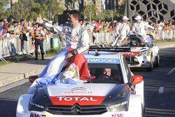 Jose Maria Lopez, Citroen C-Elysee WTCC, Citroën Total WTCC during a roadshow in Cordoba