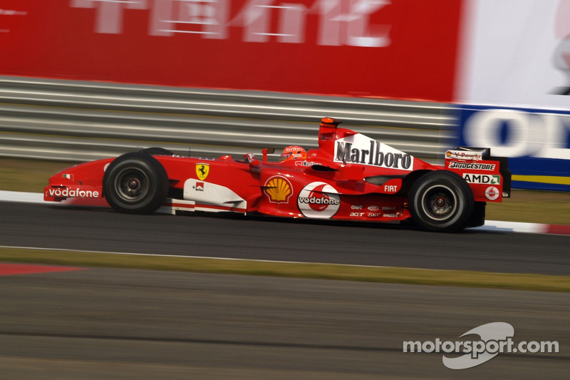 Michael Schumacher - GP da China de 2005