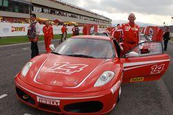 Rory Byrne ve yeni Ferrari F430