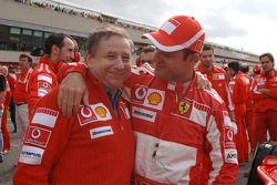 Jean Todt y Rubens Barrichello