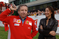Jean Todt and Michelle Yeoh