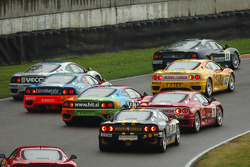 Coppa Shell Italia, race 1 start