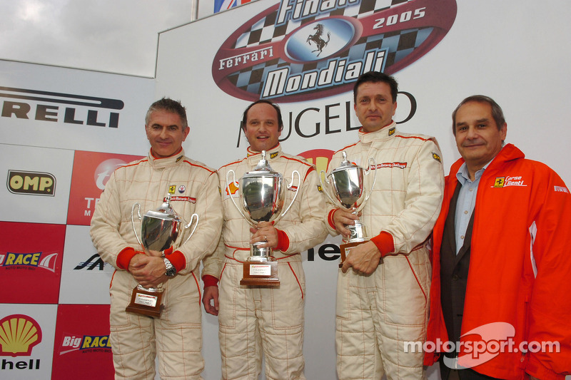 Grid C Historic Challenge, race 1 podium