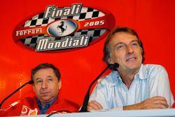 Jean Todt et Luca di Montezemolo
