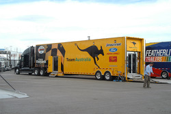 Team Australia transporter