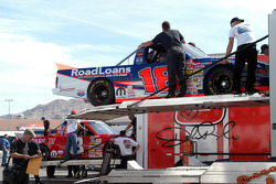 Unloading of Chase Montgomery's truck