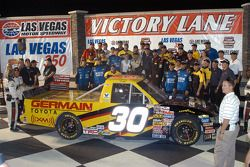 Todd Bodine and crew in victory lane