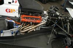Двигатель V8 гоночного автомобиля GP Masters