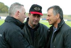 Nigel Mansell and Riccardo Patrese