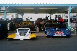 #54 Kodak - Bell Motorsports Pontiac Doran: Terry Borcheller, Ralf Kelleners, #58 Red Bull/ Brumos Racing Porsche Fabcar: David Donohue, Darren Law