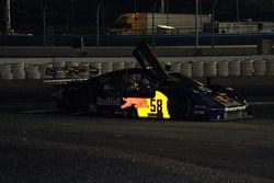 Spin for #58 Red Bull/ Brumos Racing Porsche Fabcar: David Donohue, Darren Law