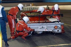 No. 01 pit stop
