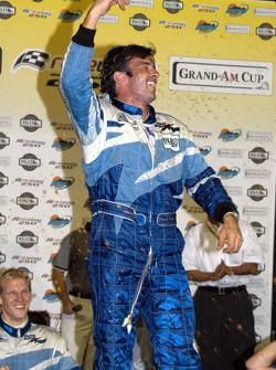 Victory lane: race winner Christian Fittipaldi celebrates