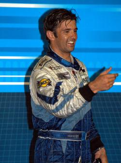 Podium: race winner Christian Fittipaldi