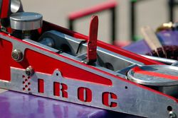 IROC pit equipment ready for the race