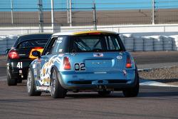 #41 Team Sahlen Dodge SRT4: Joe Nonnamaker, Will Nonnamaker, #02 Nuzzo Motorsports Mini Cooper S: Mark Powell, Bob Miller