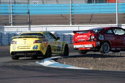 #68 SpeedSource Mazda RX-8: Scott Schlesinger, Jeff Altenburg, #32 Franklin American Mortgage Chevrolet Cobalt: Bo Roach, Tom Lepper