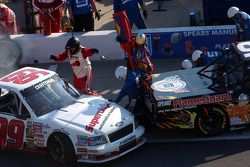 A collision on pit road
