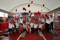 Citroën Sport team members celebrate