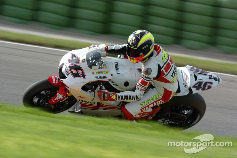 Valencia 2005 - 3º con otra una nueva decoración especial de Yamaha