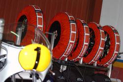 La Yamaha Championne du monde 1975 de Giacomo Agostini au stand