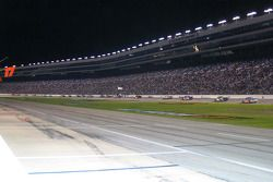 A huge crowd at TMS for the truck race