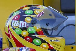 A crew member's helmet for Elliott Sadler