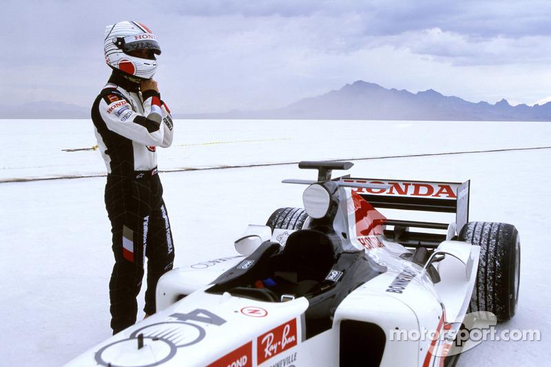 Alan van der Merwe sur le Mojave Airport