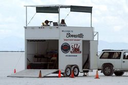 Bonneville timing booth is a prominent annual landscape, venue