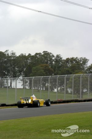 Former Formula 1 driver Alex Yoong finished behind Piquet
